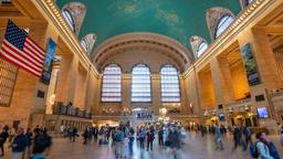 4k hyperlapse video of Grand Central Station in New York Archivo