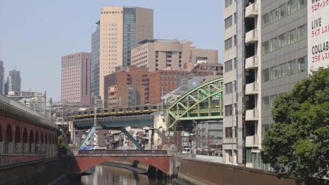 Land bridge at Akihabara ビデオ