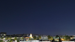 Nighttime Time Lapse of Beverly Hills Footage