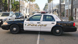 Beverly Hills Police Car Footage