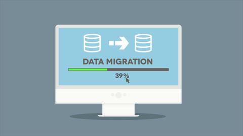 PC Data Migration Animation