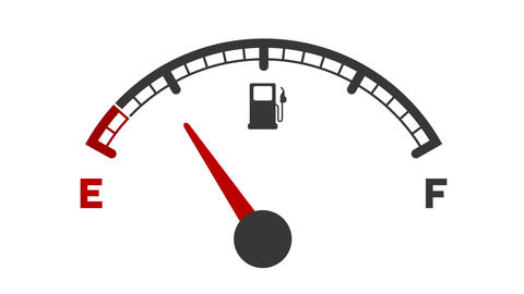 Fuel Gauge Animation