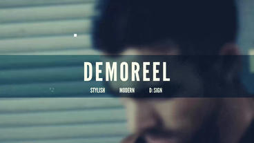 Demoreel After Effects Template