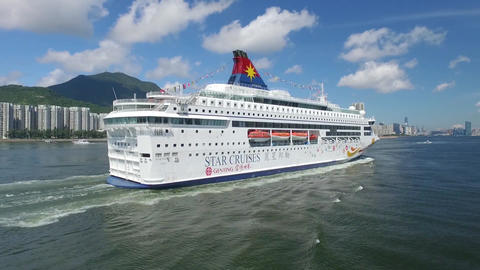 Cruise ship cruises harbour ship Live Action