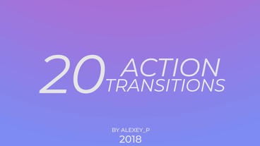 Action Transitions Premiere Pro Template