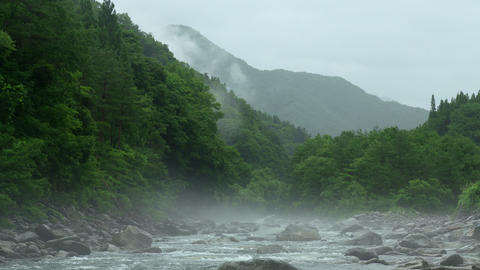 A haze of the mountain stream Live Action