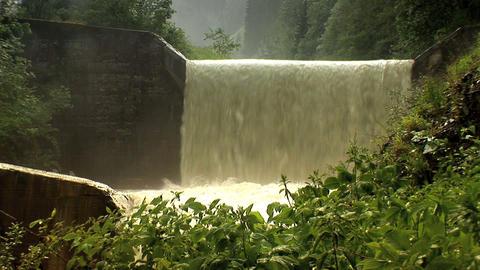 00017 Alpen003 Wasserfall2 Stock Video Footage