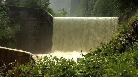 00017 Alpen003 Wasserfall2 Footage