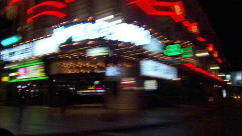 The Strip HH4 converted Stock Video Footage