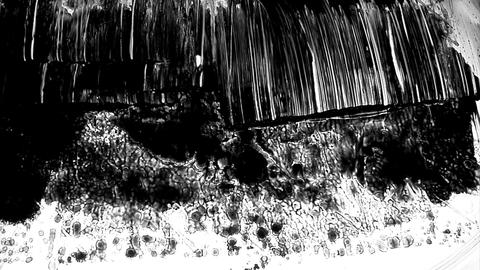 1280x1080dvpro Ink Paint Mtn14 Stock Video Footage