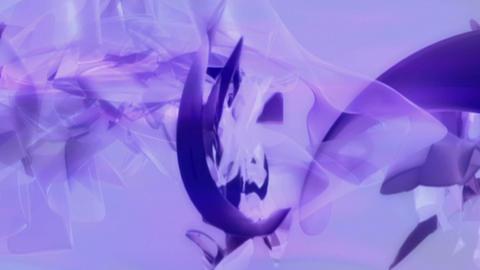 Soft Purple 3D formscape 2 Stock Video Footage