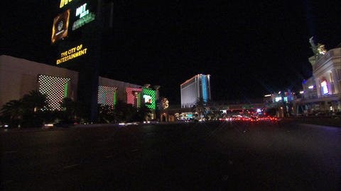 Driving Las Vegas Blvd 3 1 Footage