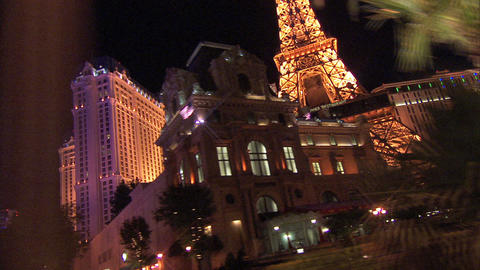 Driving Las Vegas Blvd 3A 1 Stock Video Footage