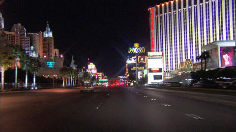 Driving Las Vegas Blvd 4A 1 Footage