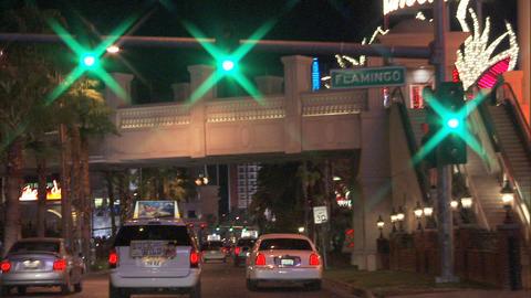Driving Las Vegas Blvd 5A 1 Stock Video Footage