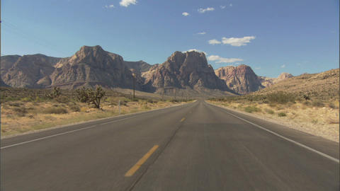 Driving Red Rock 1 Footage