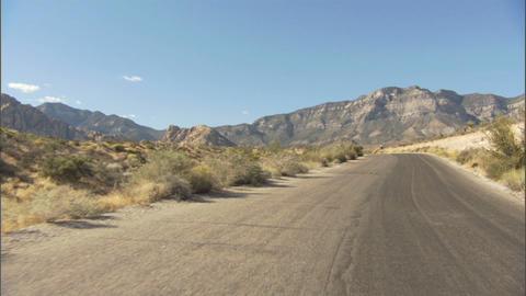 Driving Red Rock Loop 3 1 Stock Video Footage