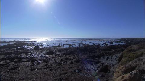 Ocean Lens Flare 1 Stock Video Footage