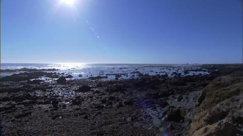 Ocean Lens Flare 1 Footage