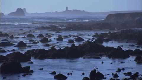Ocean Rocks 2 1 Stock Video Footage