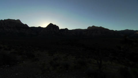 Red Rocks Sunset 1 Footage