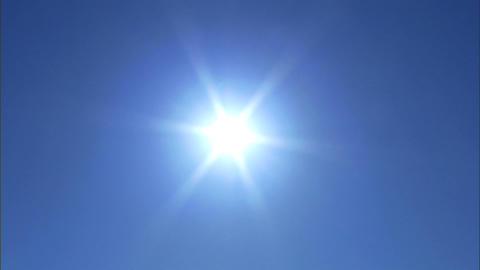 Sun Pulsating 1 Stock Video Footage