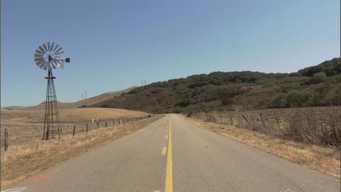 Windmill Cars 1 Stock Video Footage