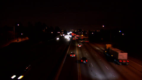 405 sunset1 Stock Video Footage