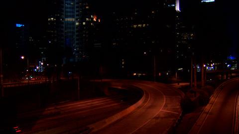 Downtown LA 110 Stock Video Footage