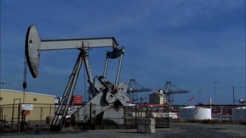 Oil Pump Stock Video Footage