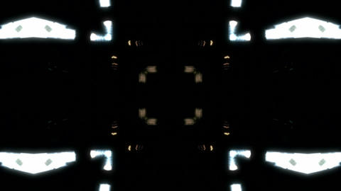 HD Light Kscope PJPEG Stock Video Footage