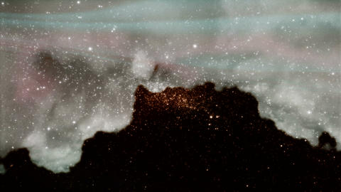 HD STARS N MARS PJPEG Stock Video Footage