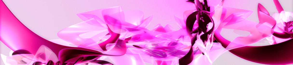 PInk 3D Organic1 Stock Video Footage