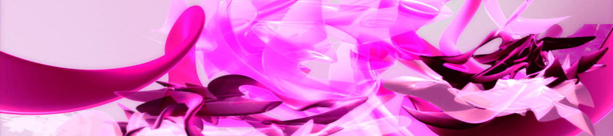 PInk 3D Organic3 Stock Video Footage