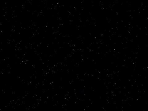 Star Filed 35 sec qt anim Stock Video Footage
