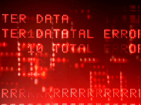 Glitch Data3 Stock Video Footage