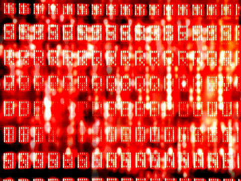 Glitch Data5 Stock Video Footage