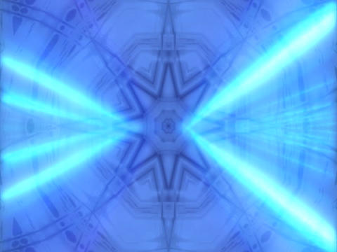 Blue LaserFiber Stock Video Footage
