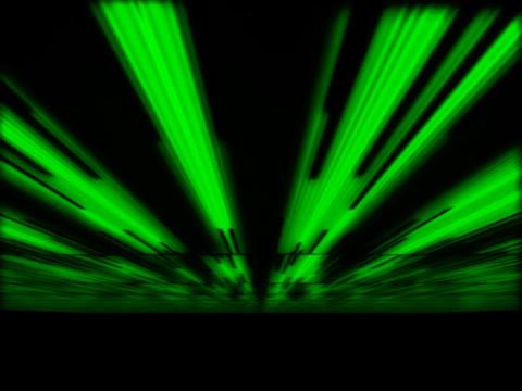 Green LInes Fan Stock Video Footage
