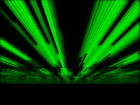 Green LInes Fan Animation
