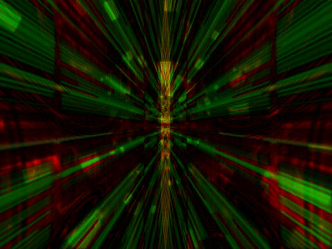 Red Yell Rays matrix1 Stock Video Footage