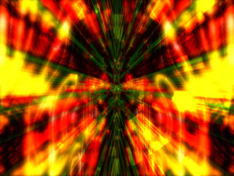 Red Yell Rays matrix1 Animation