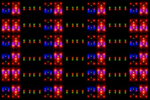 2 Cell Bettery CLR Grid1 Stock Video Footage