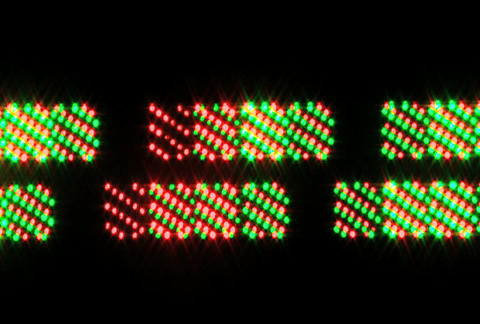 LED PP 22 Stock Video Footage