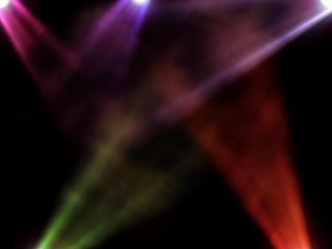 D1 Spotlights Color 2 Stock Video Footage