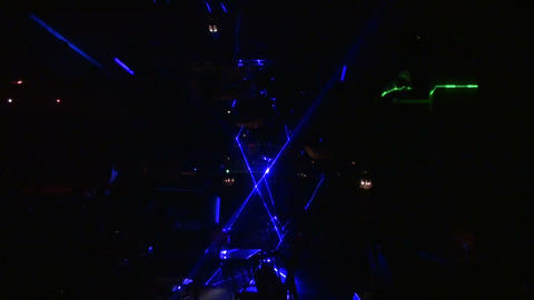 Laser show Stock Video Footage