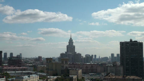 University at Moscow, Russia Footage