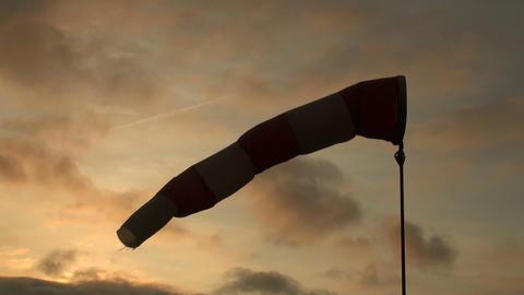 A wind sock Stock Video Footage