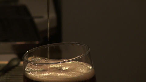 Crane for beer Stock Video Footage