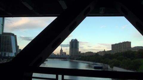 The reinforced concrete bridge Footage